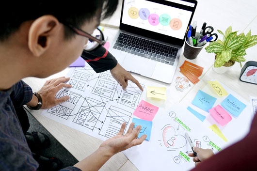 Engage with the target market - Top-Notch Web Design Strategies